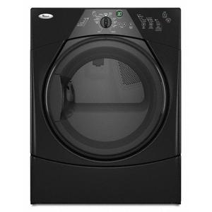 Black-on-Black Duet Sport® Electric Dryer