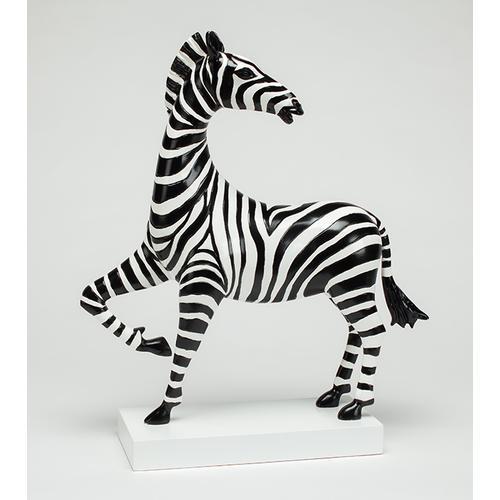 "Artmax - ""Happy Zebra I"" 22.5x6x23"""