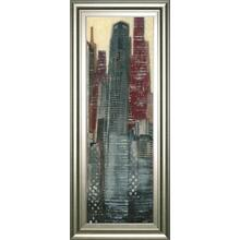 """Urban Landscape III"" By Norman Wyatt Framed Print Wall Art"