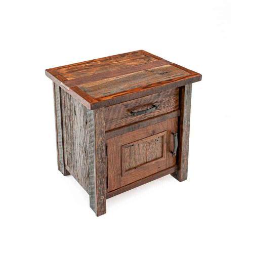 Copperhead 1 Drawer 1 Door Nightstand Hinged Right