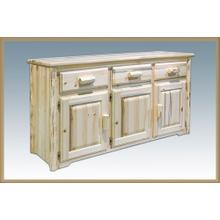 Montana Log Sideboard