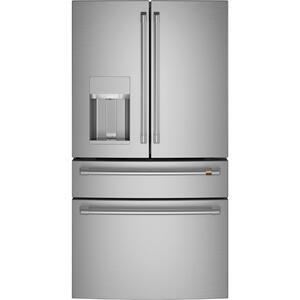 GEENERGY STAR ® 27.8 Cu. Ft. Smart 4-Door French-Door Refrigerator