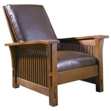 Tight Seat, Cherry Spindle Morris Chair