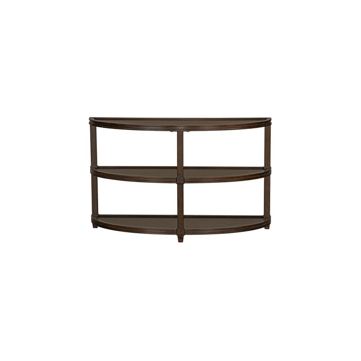Bryant Sofa Table, Honey Brown