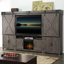 Fireplace Entertainment Wall