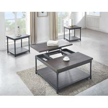 Prescott 3-Piece Lift-Top Set(Lift-Top Cocktail & 2 End Tables)