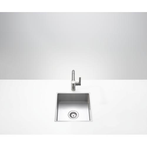 Dornbracht - Single bowl sink - matte stainless steel