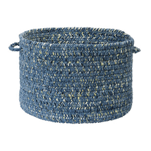 "West Bay Basket WB51 Blue 14"" X 10"""