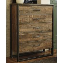 Sommerford Five Drawer Chest Brown