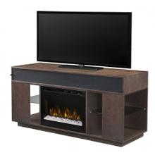 Audio Flex Lex Media Console Electric Fireplace