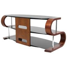 Metro 120 Tv Stand - Birch Veneer, Light Wenge