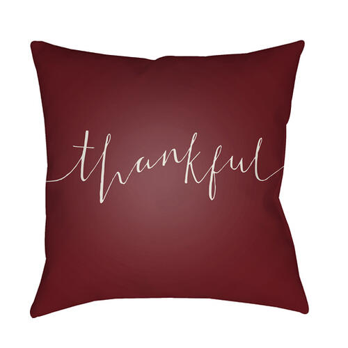 "Thankful THANK-001 20"" x 20"""