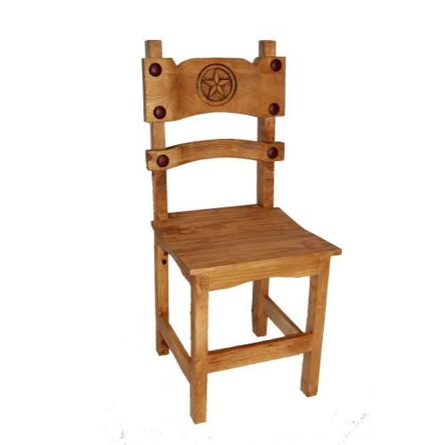 Poker Chair W/ Star