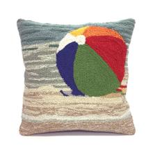 View Product - Liora Manne Frontporch Life's A Beach Indoor/Outdoor Pillow Sand