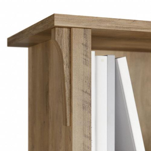 Salinas Tall 5 Shelf Bookcase - Set of 2 - Reclaimed Pine