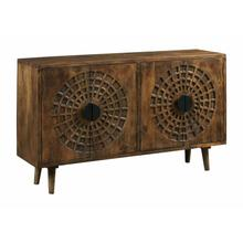 Product Image - RADIAL FOUR DOOR CABINET