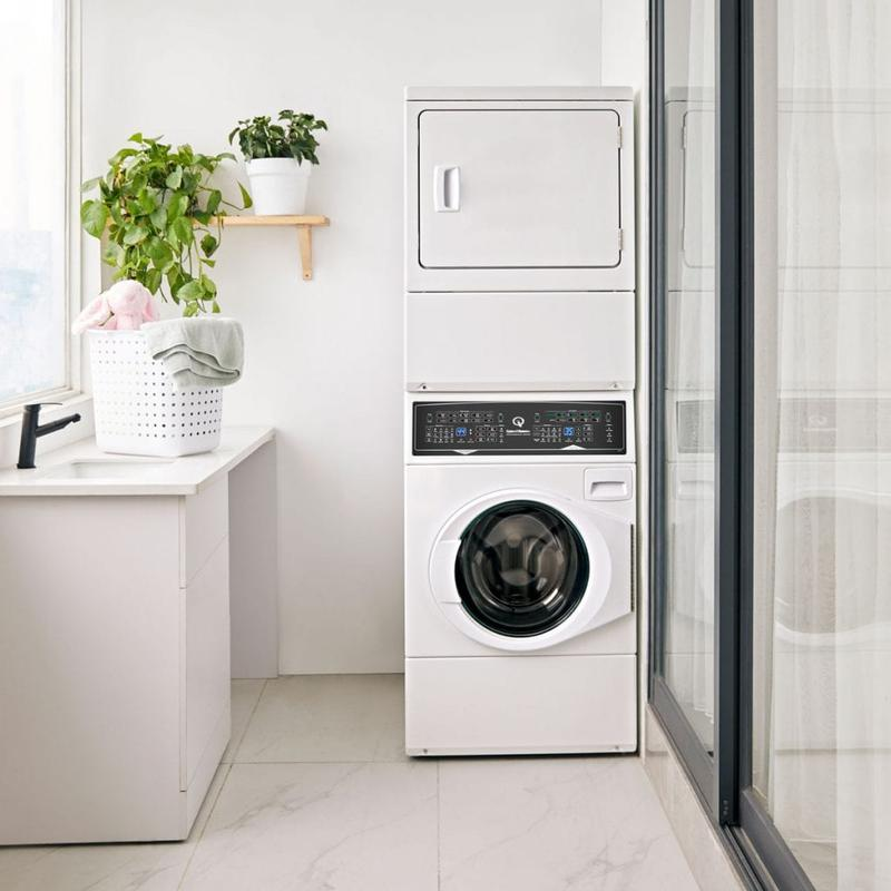 SF7 Stacked Washer-Electric Dryer with Sanitize  5-Year Warranty