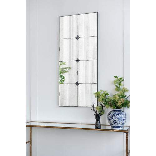 A & B Home - Antique Glass Wall Mirror