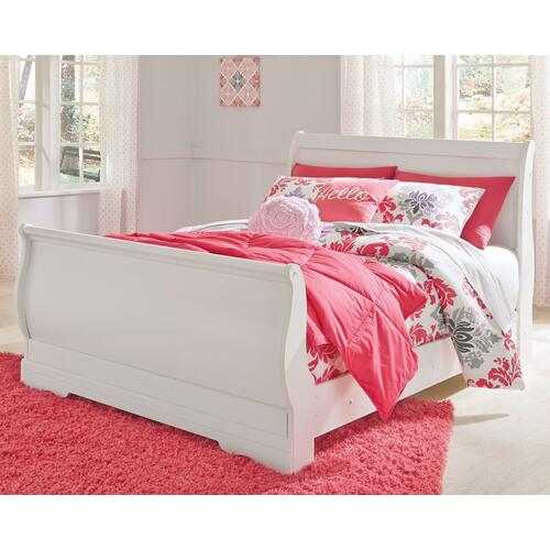 Anarasia Full Sleigh Bed