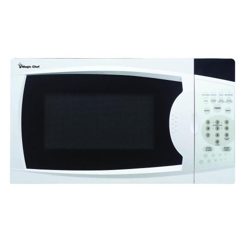 Magic Chef - 0.7 cu. ft. Countertop Microwave Oven