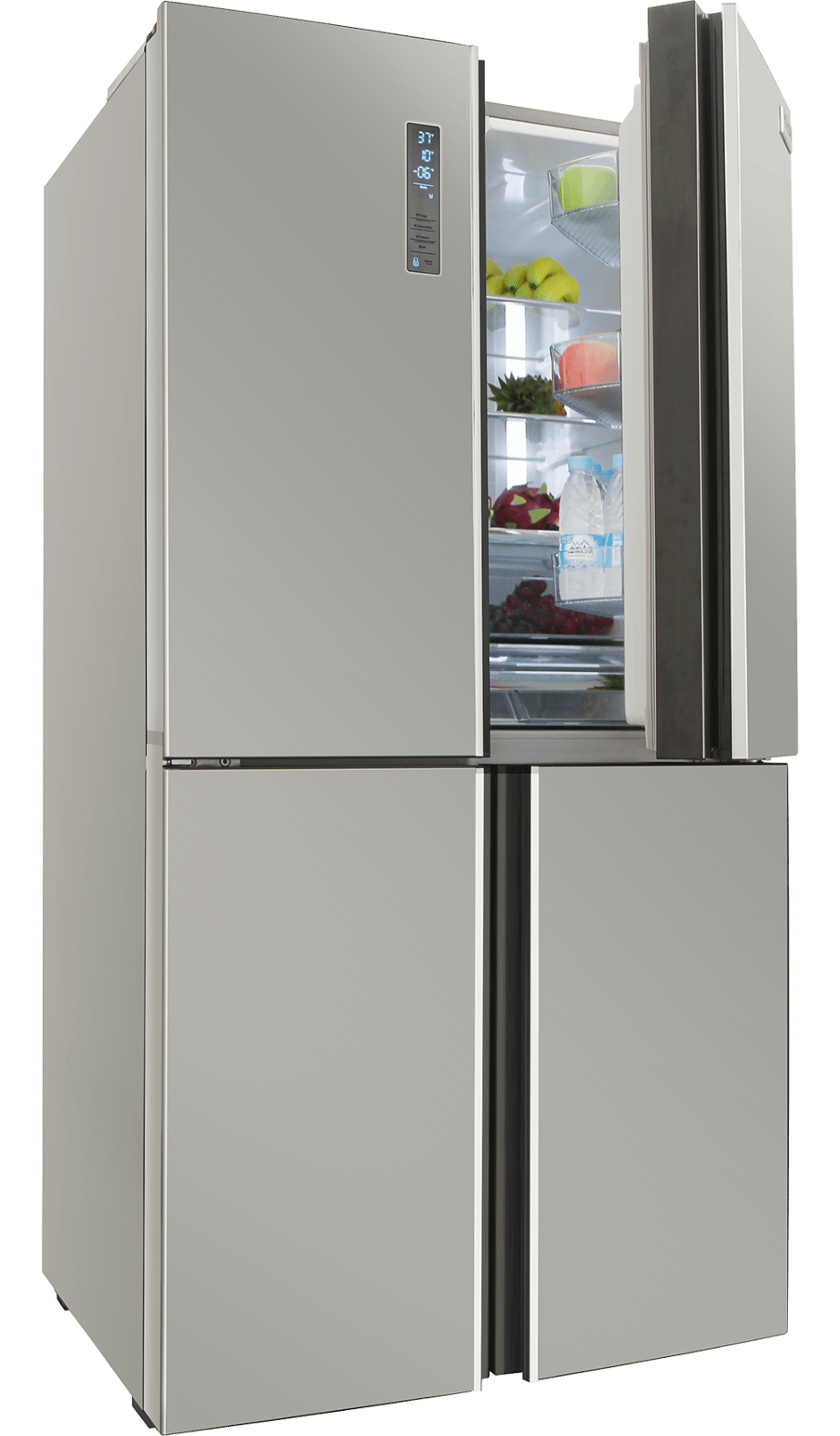 Thor Kitchen36 Inch French Door Refrigerator In Stainless Steel, Counter Depth