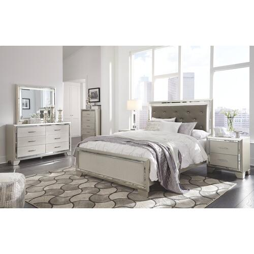 Lonnix Queen Panel Bed