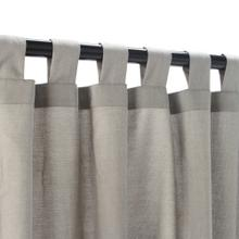 See Details - Sunbrella Spectrum Dove Outdoor Curtain with Tabs