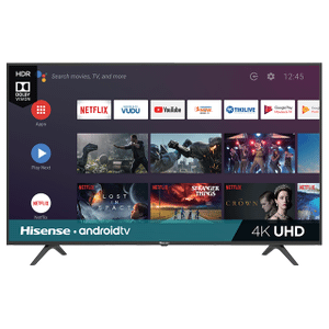 """43"""" Class - H6590 Series - 4K UHD Hisense Android Smart TV (2019) SUPPORT"""