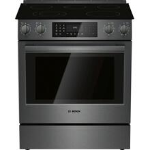 800 Series Electric Slide-in Range black inox HEI8046C