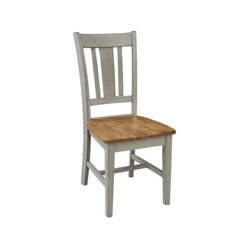 John Thomas Furniture - San Remo Chair inHickory Stone