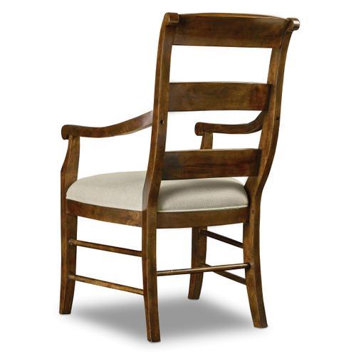 Archivist Ladderback Arm Chair - 2 per carton/price ea