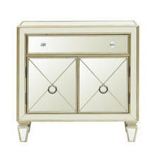 See Details - Glam Mirrored Accent Chest