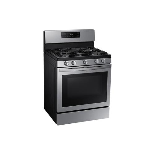5.8 cu. ft. Freestanding Gas Range with Air Fry and Convection in Stainless Steel
