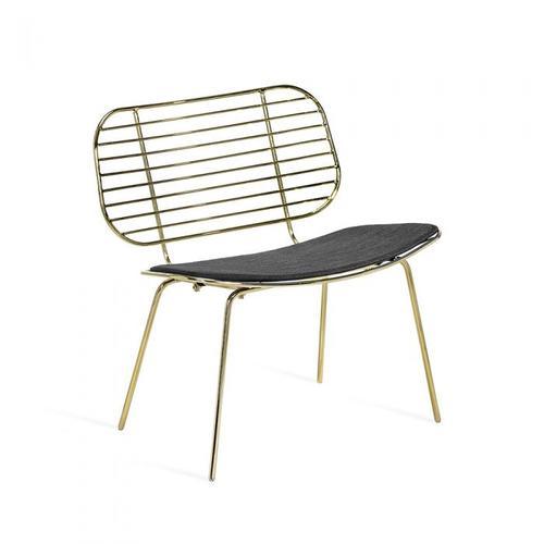 Cyrus Chair - Brass