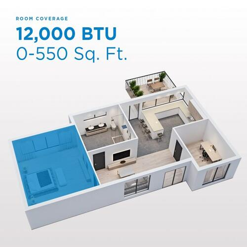 Gallery - Danby 12,000 BTU Through-the-Wall Air Conditioner