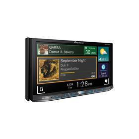 """2-DIN Flagship Multimedia DVD Receiver with 7"""" WVGA Touchscreen Display"""