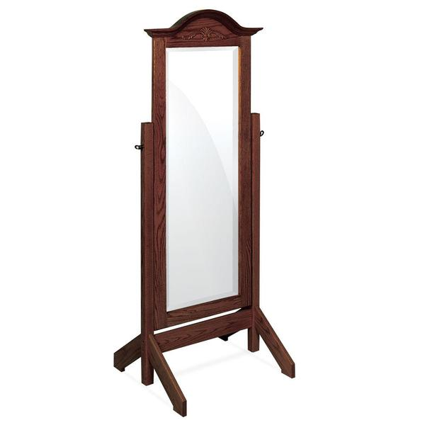 See Details - Arch Top Cheval Mirror
