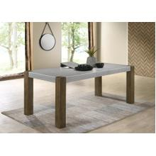 See Details - Costabella Solid Wood Dining Table with Butterfly leaf