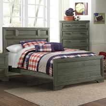 Product Image - Foundry Full Bed  Brushed Pewter Brushed Pewter