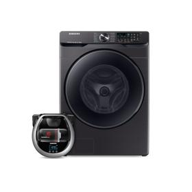 Wi-Fi Connected Front load washer with Super Speed and Pet Plus Robot vacuum