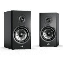 LARGE BOOKSHELF SPEAKER in Black
