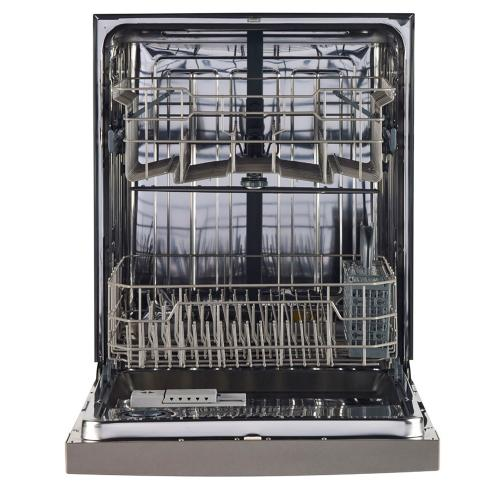 "GE 24"" Built-In Stainless Steel Tall Tub Dishwasher Slate GBF630SMLES"