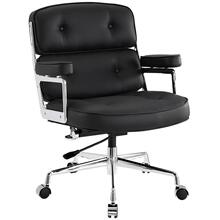 Replica Eames Executive Work Chair - Black