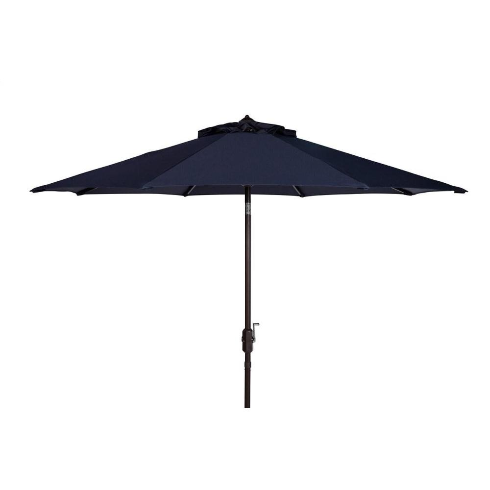 Uv Resistant Ortega 9 Ft Auto Tilt Crank Umbrella - Navy