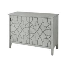 Markel 2-door Cabinet In Grey Linen