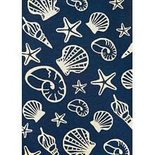 Outdoor Escape Cardita Shells - Navy-Ivory 7334/0313