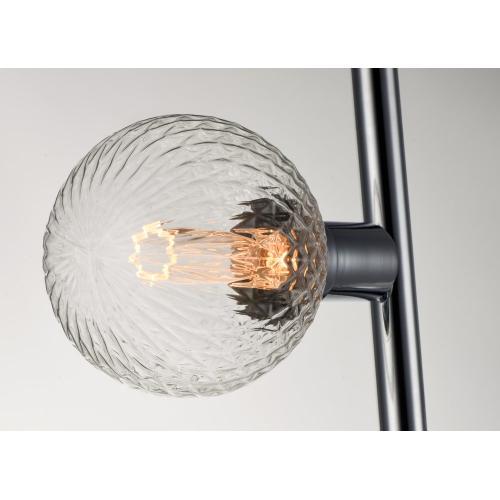 Molecule 8-Light Pendant with G40 PR LED Bulbs
