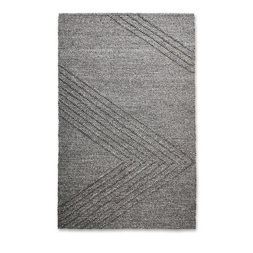 Avro Rug Charcoal / 5x8