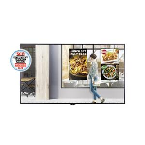 "Lg55"" XS4F series High Brightness Window Facing Indoor Digital Display with auto brightness control, webOS 3.0 and Quad Core SoC"