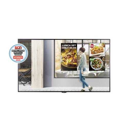 """55"""" XS4F series High Brightness Window Facing Indoor Digital Display with auto brightness control, webOS 3.0 and Quad Core SoC"""